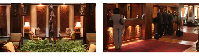 Serena Hotel Interior